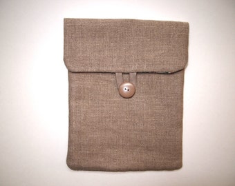 100% linen Ipad case, Ipad cover, Ipad sleeve