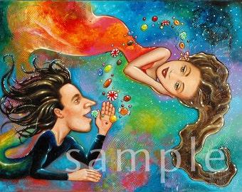 Sweet Nothings whimsical painting