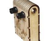 Mini Headphone Guitar Amp & Pedal - Wooden Box Amplifiers