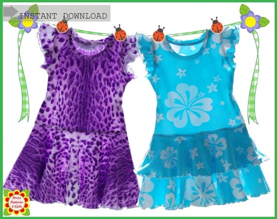 Alice Sewing Pattern for Children Free Mother-Daughter Apron