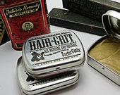 Hair Grit - All Natural and Organic - Hair Product - Pomade - Styling Wax- By Doctor GaniX - Pocket Tin