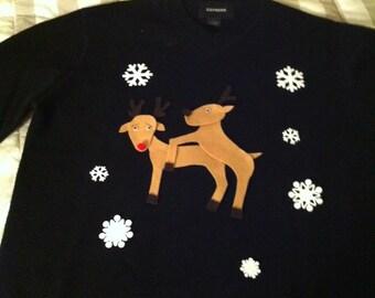 Randy Reindeer - Ugly Christmas Sweater