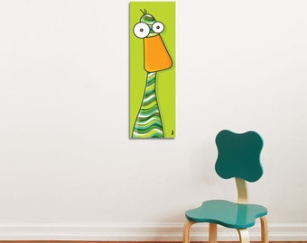 Duck - Canvas - Color Print