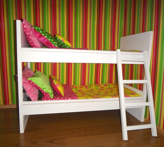 Items Similar To American Girl Doll Size Bed On Etsy
