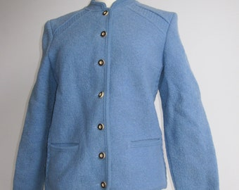Blue Knitted Blazer