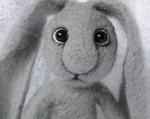 Handmade Needle Felted Hare with wire armature