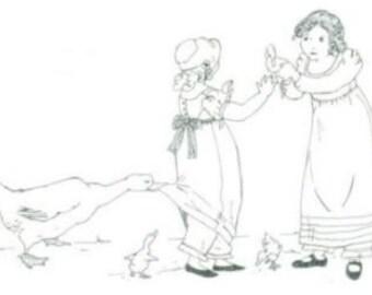 SS110 - A Girl's Regency Dress Sewing Pattern by Sense & Sensibility