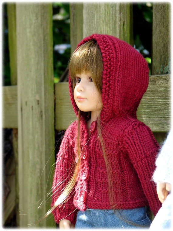 Cat Coat Knitting Pattern : Urban pdf slim quot doll clothes a textured ribbed stitch