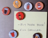 Beer Nerd Magnet Set of 7