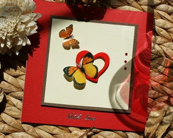 Happy Anniversary / Valentine Handmade Card