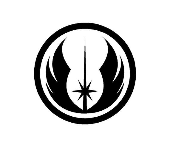 Jedi Knight Symbol Tattoo Items similar t...