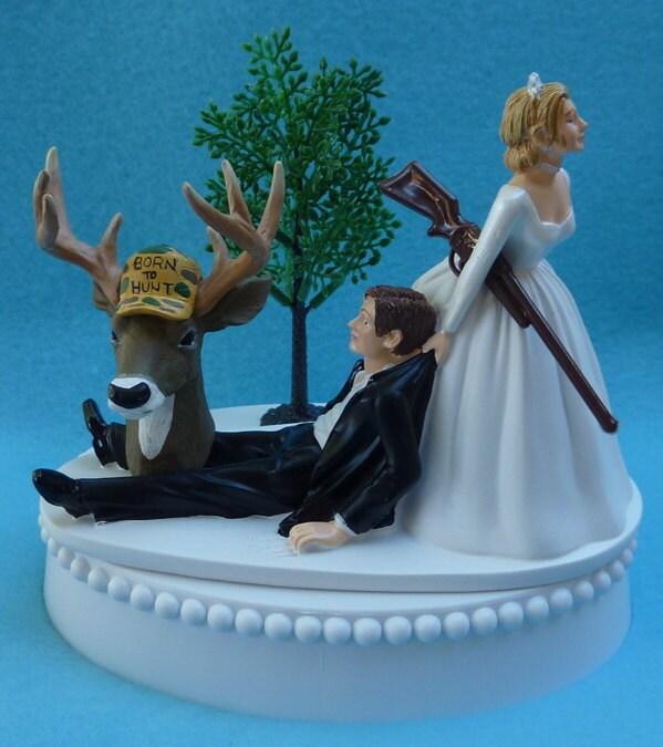 Deer Cake Toppers For Wedding Wedding Cake Topper Deer