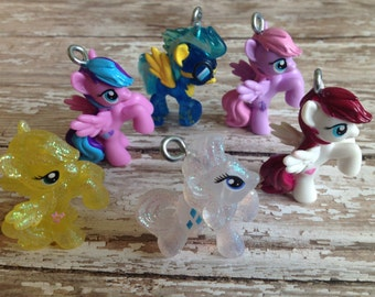 My Little Pony Pendants for Custom Chunky Gumball Necklaces for girls