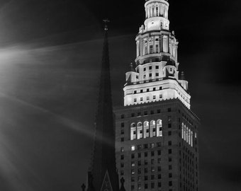 Terminal Tower and Old Stone Church - Image 01906