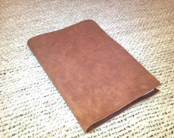 Suede Leather Journal