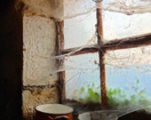 Fine Art Photography Still Life Photography Home Decor Photo Print of a Rustic Window in an Old Barn 15x22 cm 6x8 inch