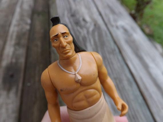 Vintage Disney Toy Figurine Pocahontas' Father Chief