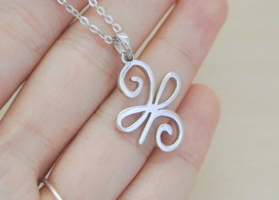 Items Similar To New Beginning Necklace New Beginning Symbol