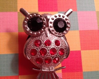 red owl retractable badge reel
