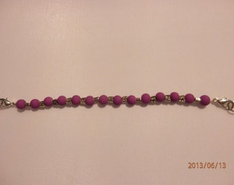 Neon Purple Watch Band