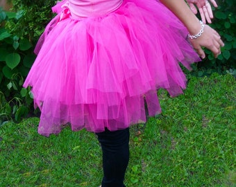 Hot Pink Adult Tutu (Adjustable)