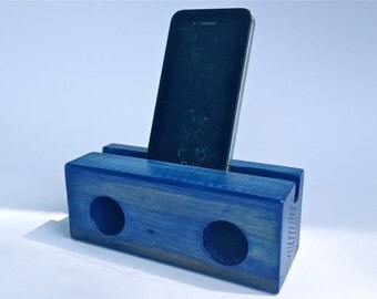 wooden speaker for iPhone