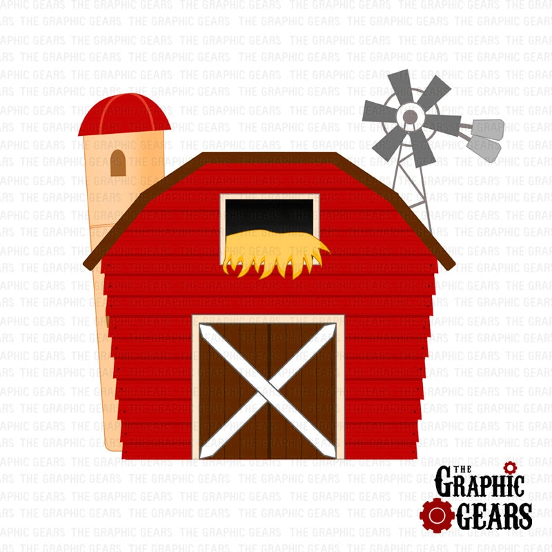 Red Barn Door Clip Art animated baarn images - reverse search