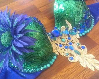 Custom bra example:  This is an example of a bra that was a special order for EDC/Vegas 2013