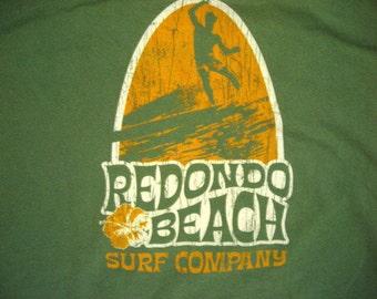 Redondo Beach Surf Company Recycled Cotton Tshirt Large