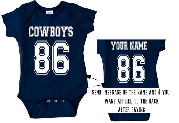 v cowboys baby jersey customized personalized by