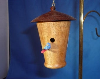 miniature Birdhouse ornament and art