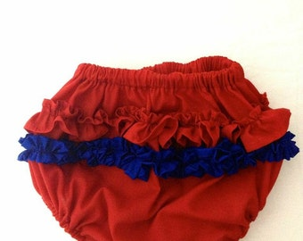 Cladell african print Ruffle Butts