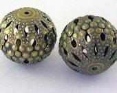 Filigree Beads 25 beads