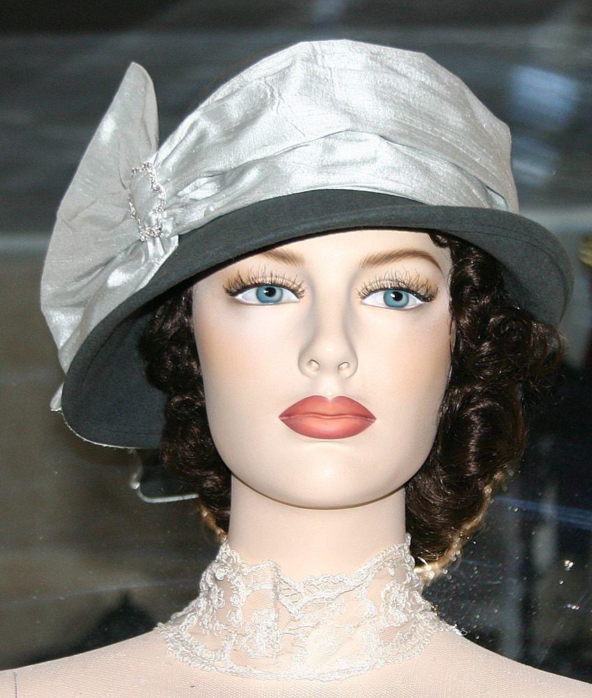 Kentucky derby hat cloche downton abbey gatsby