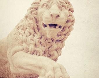 bridge of lions st augustine florida photograph fine art travel photography architecture beige decor statue wall art