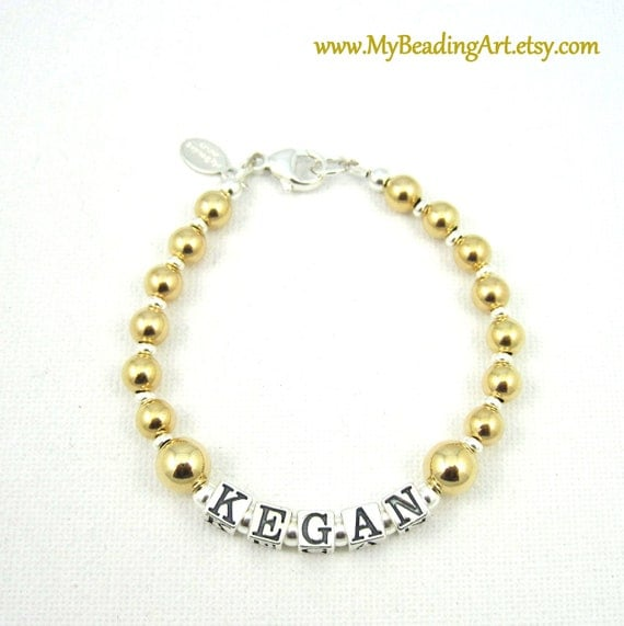 gold letter bracelet bracelets personalized name