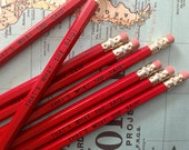 That's What She Said Pencil 6 Pack, Red
