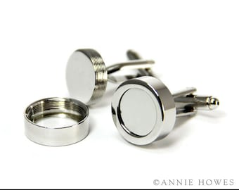 DIY Photo CUFF LINKS. What to Give your Guy. Create Your Own custom Cuff Links. Great for the wedding party.
