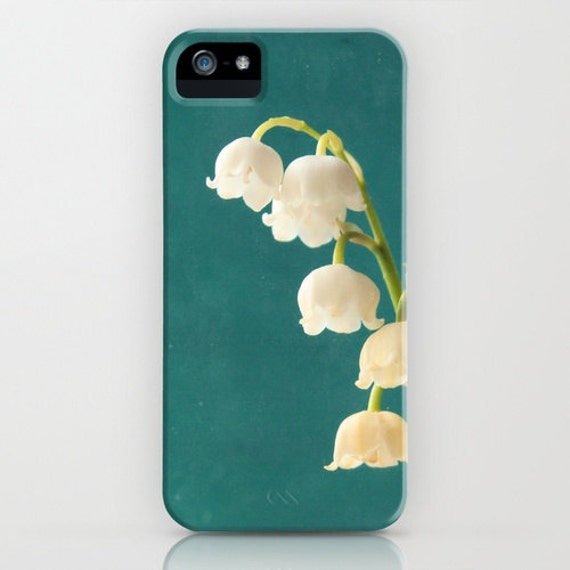 iPhone / Cell Phone Case - Botanical Photography - Lily of the Valley