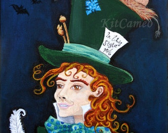 A Riddle and Tea, The Mad Hatter Print