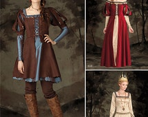 Simplicity 1773-Dark Snow White Dress, Gown and Evil Queen Size 6-14