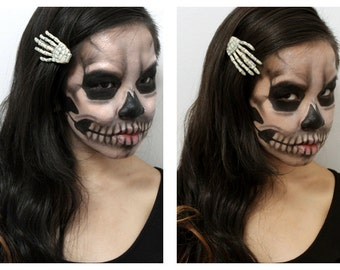 The Skeleton Barrettes