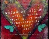 Metamorphosism... - Post Card