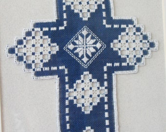3 charles craft hardanger cross stitch fabric 22 count for Charles craft cross stitch fabric