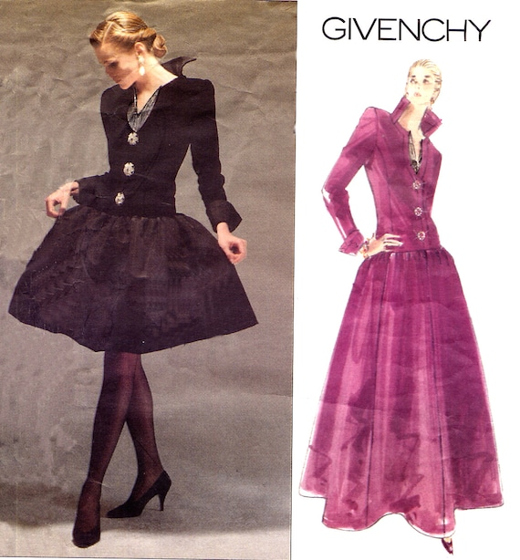 Items similar to Designer Evening Gown Sewing Pattern ...