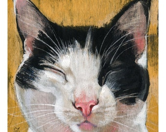 Martina (Fine Art Print not a real Cat)
