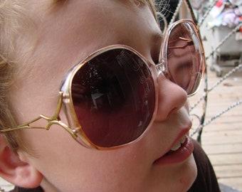 Vintage 1980s Ladies Magnifying Sunglasses