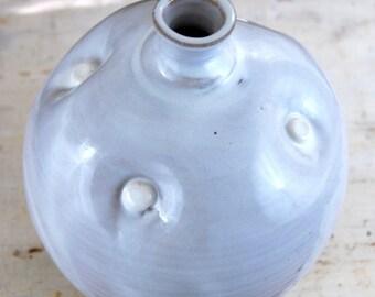 White Quartz Dimpled Bottle