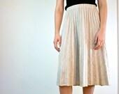Accordion Pleated Skirt - 1970s Pleated Skirt