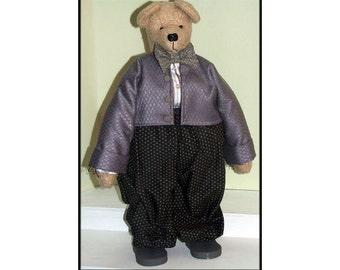 Peter Bear Handmade Country Bear Art Doll